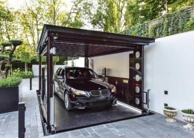 Aarding Car Lifts - BMW op Bemande Autolift IP1-CM MOB 14