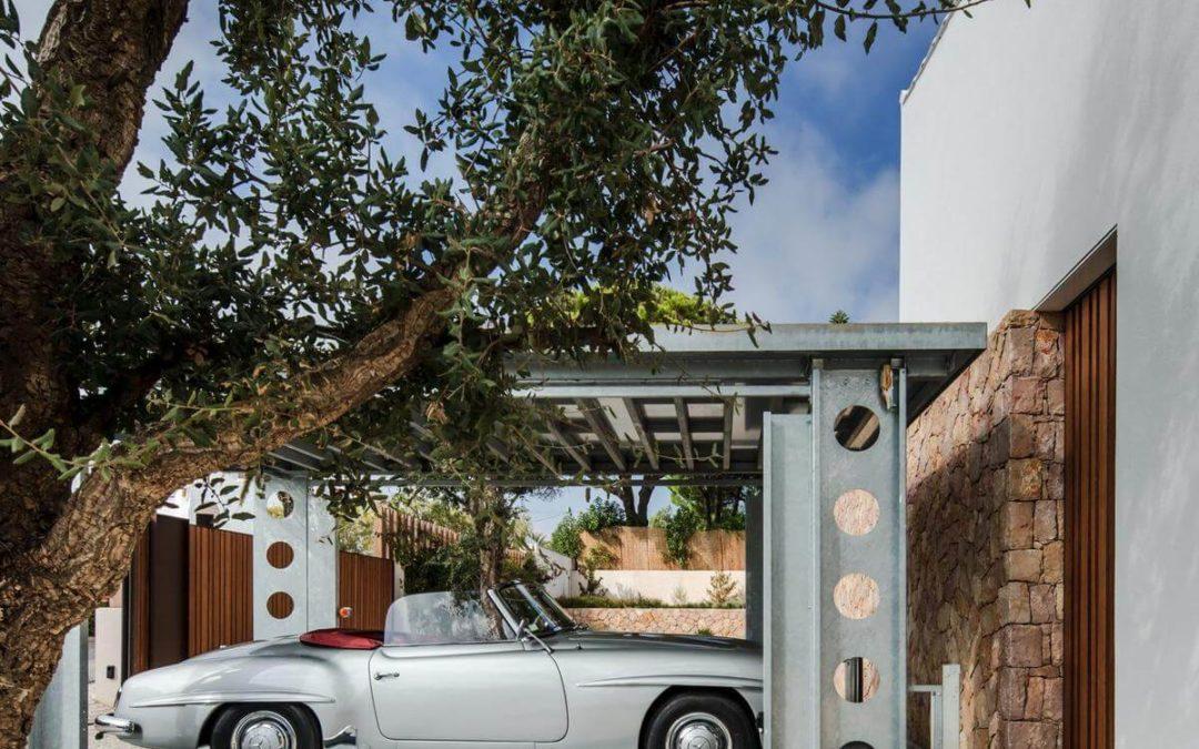 Onbemande Autolift voor Luxe Villa in Portugal