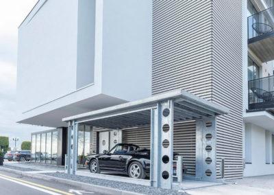 Aarding Carlifts - Onbemande hydraulische Autolift Luxe Appartement Italië - 2