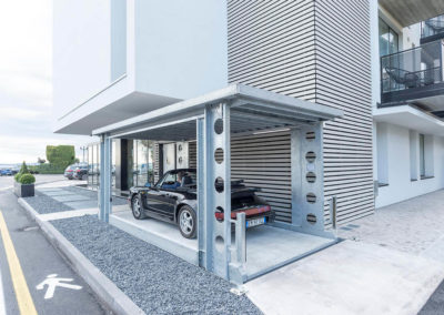Aarding Carlifts - Onbemande hydraulische Autolift Luxe Appartement Italië - 5