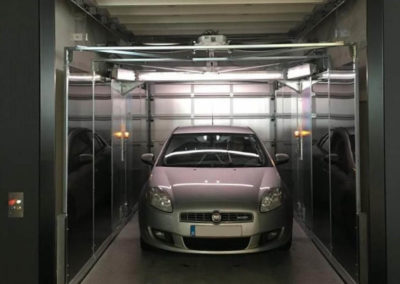 Aarding Car Lifts Project Bemande Autolift voor Hotel in Amsterdam IdealPark V08 - 3