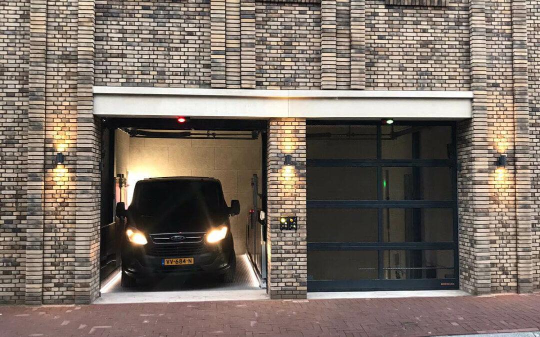 Veilig Parkeren in Nieuwbouwproject Wiborg